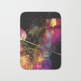 Violoncello art 1 #violoncello #cello #music Bath Mat