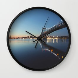 Glass Work Wall Clock