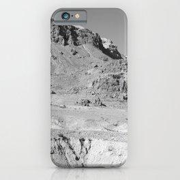 Desert Landscape in Israel iPhone Case