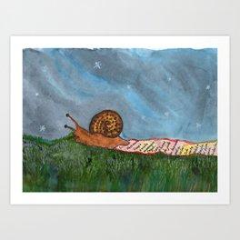 Tli cuenta historias Art Print