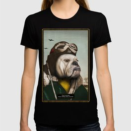 "Wing Commander, Benton ""Bulldog"" Bailey of the RAF T-shirt"