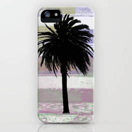 Palm and colors iPhone Case
