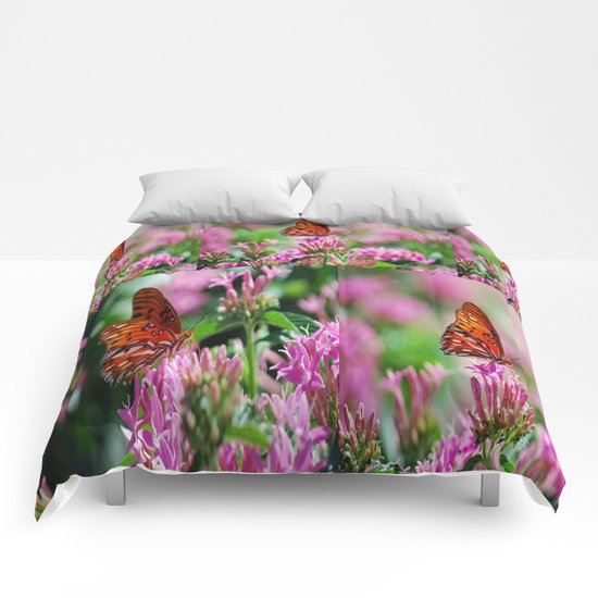 Wedding Butterfly Comforters