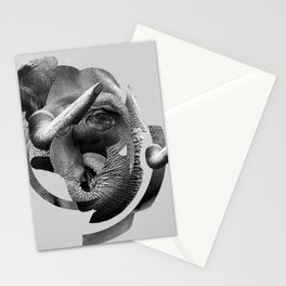 / skin / elephant Stationery Cards