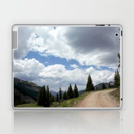 Black Bear Pass Road - Panorama from a Crest Laptop & iPad Skin