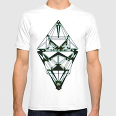 Invisibility  MEDIUM Mens Fitted Tee White