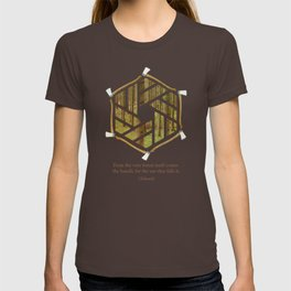 Forest & Axe — Illustrated Quote T-shirt