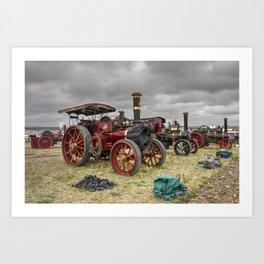 Dorset Engines  Art Print