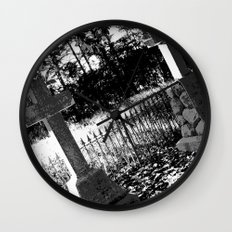A Dark Vision Wall Clock