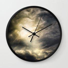 Cloudio Di Porno III Wall Clock