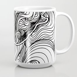 Diving to the depths Coffee Mug