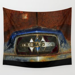 International Truck Emblem Wall Tapestry