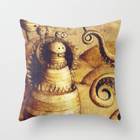 Brusuillis Throw Pillow