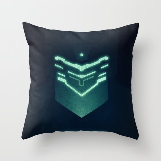 Isaac Clark / Dead Space Throw Pillow