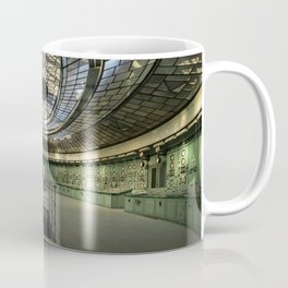 Art Deco Control Room inside of an abandoned power station Coffee Mug