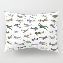Various WW2 Planes Pillow Sham