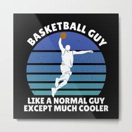 basketball guy Metal Print