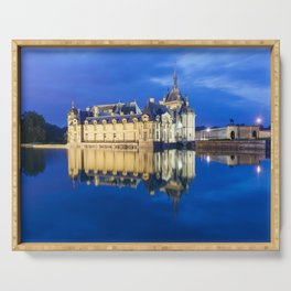 Chateau De Chantilly Serving Tray