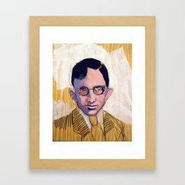 1935 Killed Huey Long (Carl Weiss) Framed Art Print