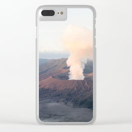 Volcanic Sunrise Clear iPhone Case
