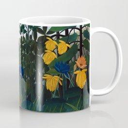 Henri Rousseau - The Repast of the Lion Coffee Mug