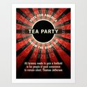 Thomas Jefferson Tea Party by politics