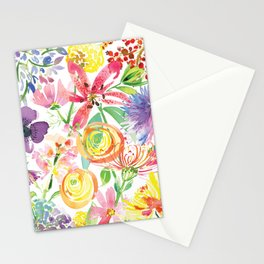 Bold Florals Stationery Cards