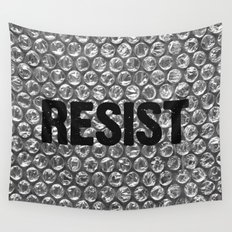 Resist Wall Tapestry