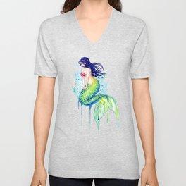 Mermaid Splash Unisex V-Neck