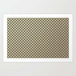 Dots pattern Art Print