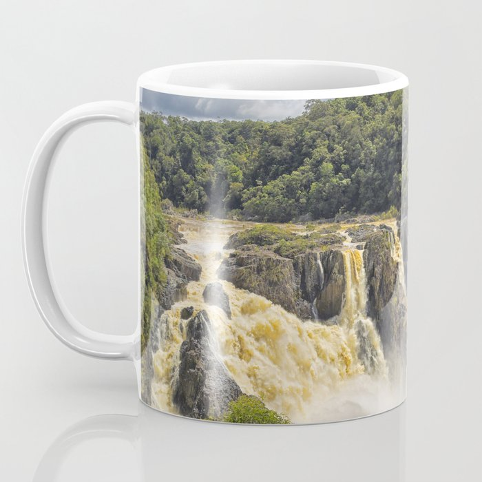Beautiful wild waterfall Coffee Mug