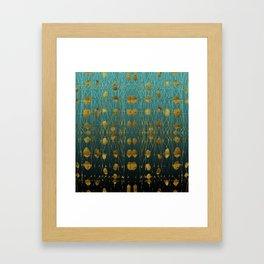 Kelp Forest Blue Framed Art Print