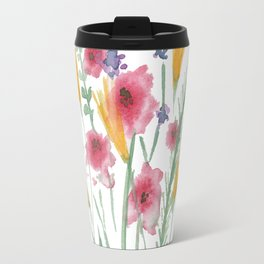 A Bunch of Flowers Travel Mug