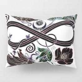Infinity Moon Garden in Pastel at Midnight Pillow Sham