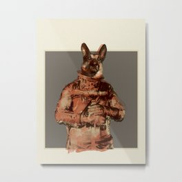 For Laika Metal Print