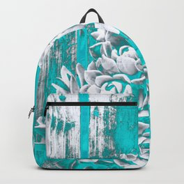 Turquoise Hen & Chick Backpack