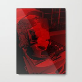 Vinyl AM Album Metal Print