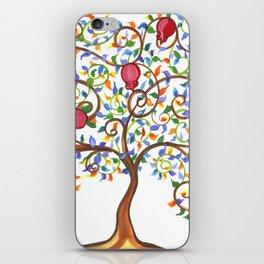 Pomegranate Tree iPhone Skin