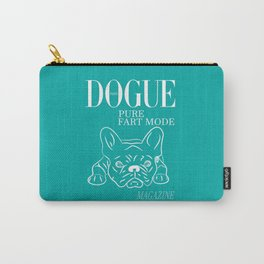 DOGUE MAGAZINE Pure Fart Mode Edt Green Carry-All Pouch