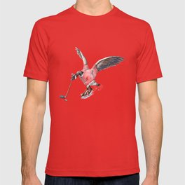 Canada Goose Playing Hockey T-shirt