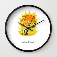 Electric Thunder! Wall Clock