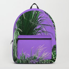 Palms on Purple Backpack