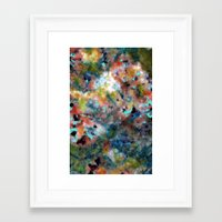 random Framed Art Prints featuring Random by Angelandspot