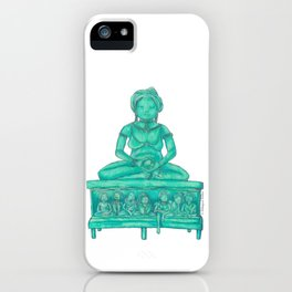 Oriental Meditation iPhone Case