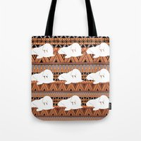 walrus Tote Bags featuring WALRUS by Georgie Smart