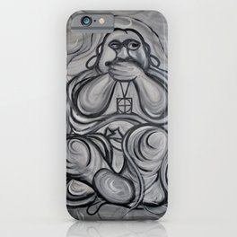 Three Wise Zen by Terry Horton iPhone Case