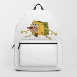 spongebob old Backpack