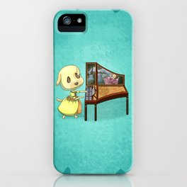 Animal Crossing Pocket Camp - Goldie iPhone Case