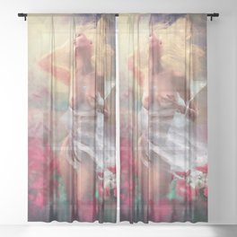 The First Touch Sheer Curtain
