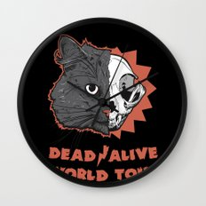Schrödinger - DEAD/ALIVE World Tour Wall Clock